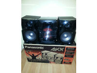 Panasonic SC-AKX18E-K 350W Mini Hi-Fi CD System with Wireless Audio Streaming