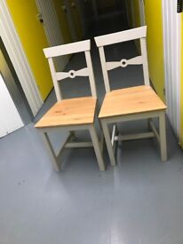 2 x IKEA dining/kitchen chairs