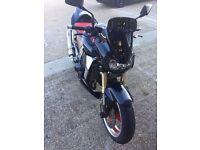 Kawasaki Z1000 ohlins fully adjustable rear suspension, loads of extras