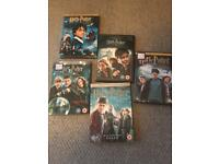 Selection of Harry Potter DVDs