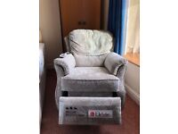 G Plan rise and recline electric chair