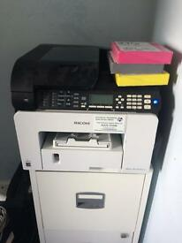 Ricoh Aficio SG multifunctional printer with 3 unopened ink cartridges