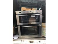Built in oven and gas hob