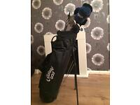 Callaway golf set & carry bag with stand