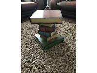 Pair Of Giant Book Style Side Table