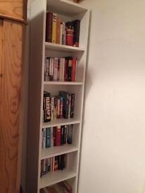 Tall ikea bookshelves