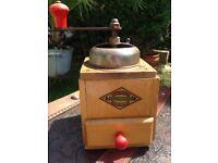 Vintage German Coffee Grinder Geschmiedetes