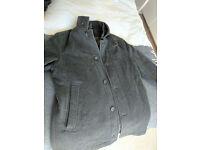Hugo Boss Heavy Winter Jacket - Grey, Cashmere & Wool (Good Condition)
