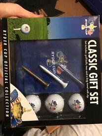 Classic golf set.