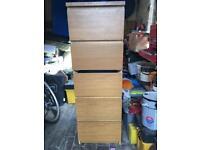 Set of drawers
