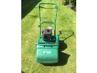 Suffolk Punch cylinder petrol self propelled lawn mower