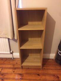 Ikea billy bookshelf in Oak Veneer - £15