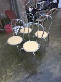 4 Lovely solid dining chair in very good condition