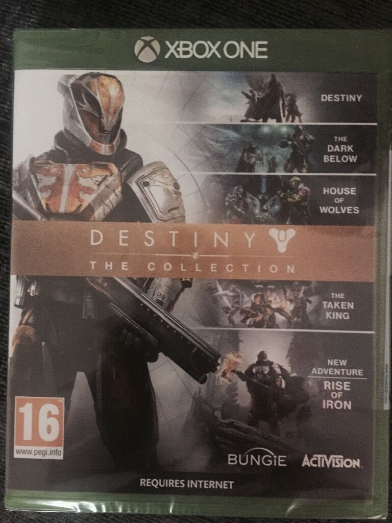 Destiny the collection brand new sealed xbox one game