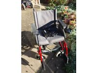 Red RUMBA QUICKIE Electric wheel chair battery charger