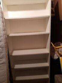 Bookcase - white
