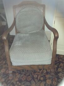 Lovely comfortable chairs wood framed