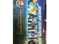 ENGLAND VS PAKISTAN GOLD TICKETS FOR THE SEMI FINAL