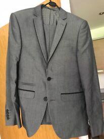 Burton Menswear Suit - Grey
