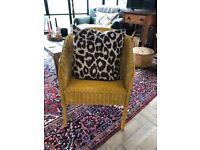 Vintage Lloyd Loom Armchair