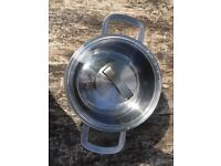 Ikea Stainless Steel 5L Pot with Lid - New 25£
