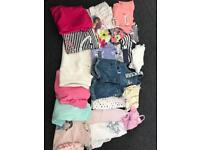 Girls clothes bundle aged 2-3 21 items