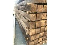 New treated Timber, wooden planks, 4x4 wooden posts. 10ft long