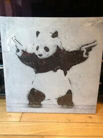 Panda Canvas Picture