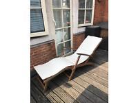 Sunbed/Steamer Chair