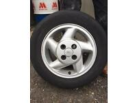 Ford Escort Wheels x4