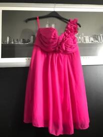 Pink mini dress. NEW WITHOUT TAG SIZE 14