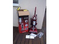 POWERFUL HOOVER HURRICANE POWER UPRIGHT VACUUM 'AAA RATED' PET- AS NEW, BOXED AND COMPLETE
