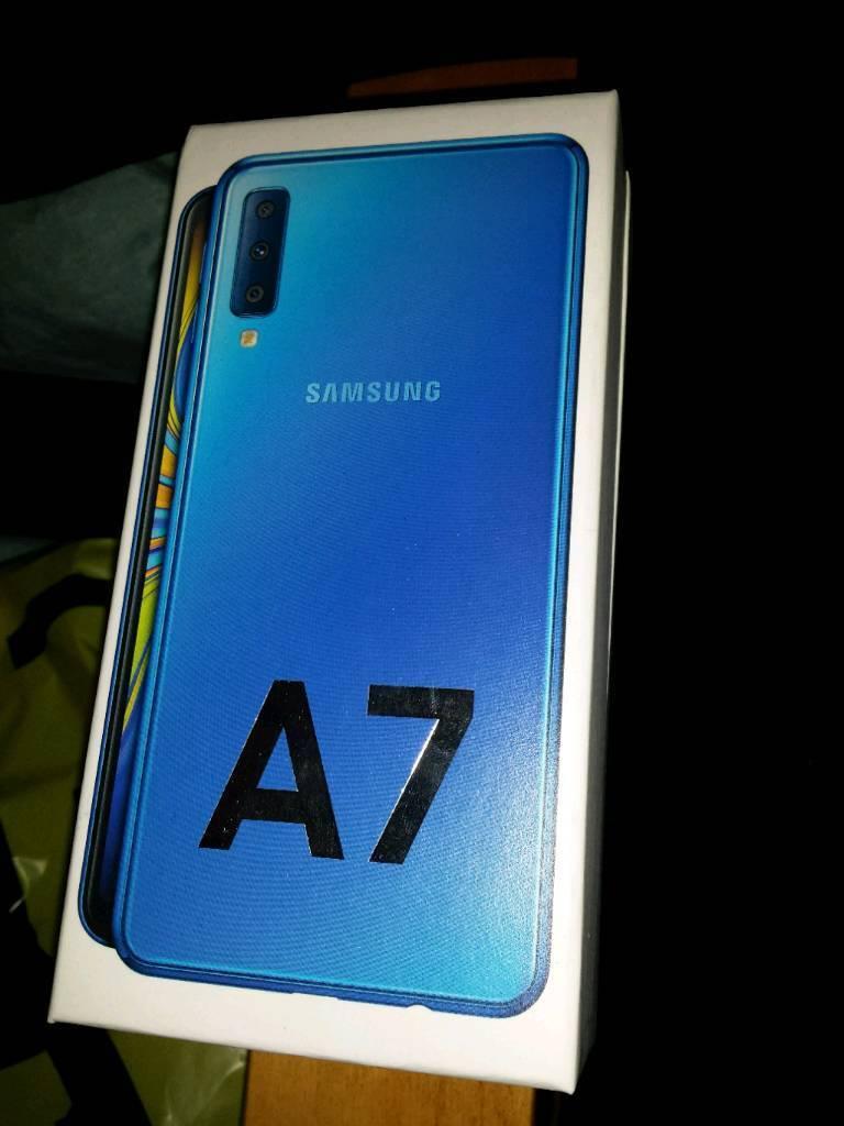 New Samsung A7 2018 Unlocked 4GB Ram 128GB Rom  | in Manchester | Gumtree