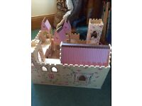 Melissa and Doug wooden castle