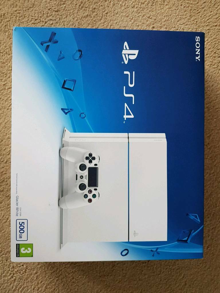 Ps4 Glacier Ads Buy Sell Used Find Right Price Here Stik New Model White 500gbin Hollywood West Midlands
