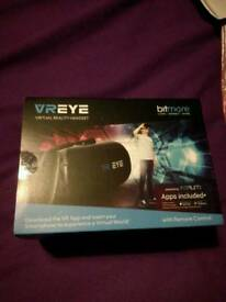 Final reduction 2 NEW Virtual reality headsets with remote control.