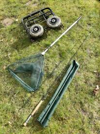 Fishing tackle job lot