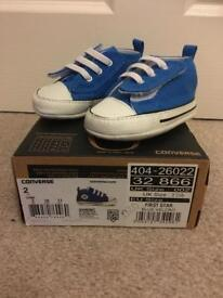 Babies converse trainers