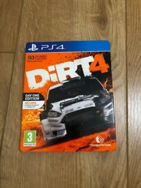 Dirt 4 Steelbook Edition PS4 Game