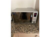 Almost new Russel Hobbs microwave