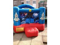 bouncy castle with air pump