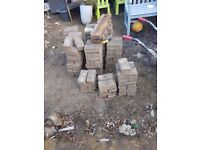 Block paving. Buyer must collect, make an offer. Roughly 15sqm of brindle paving blocks
