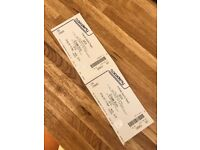 Justice Tickets x 2 for Friday 29th September
