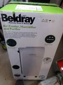 New Beldray humidifier cooler and purifier