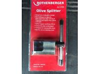 Rothenberger olive splitter