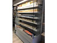 Multi Deck Upright Shop display fridge