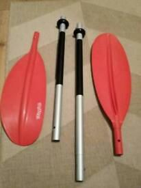 4-Piece Kayak Paddle - unused