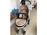 Silver cross surf 2 sand travel system with car seat and isofix