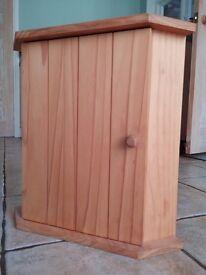 Wall hanging corner cabinet, solid wood, bathroom, bedroom, kitchen storage