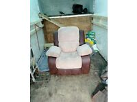 Sofa and arm chair recliner